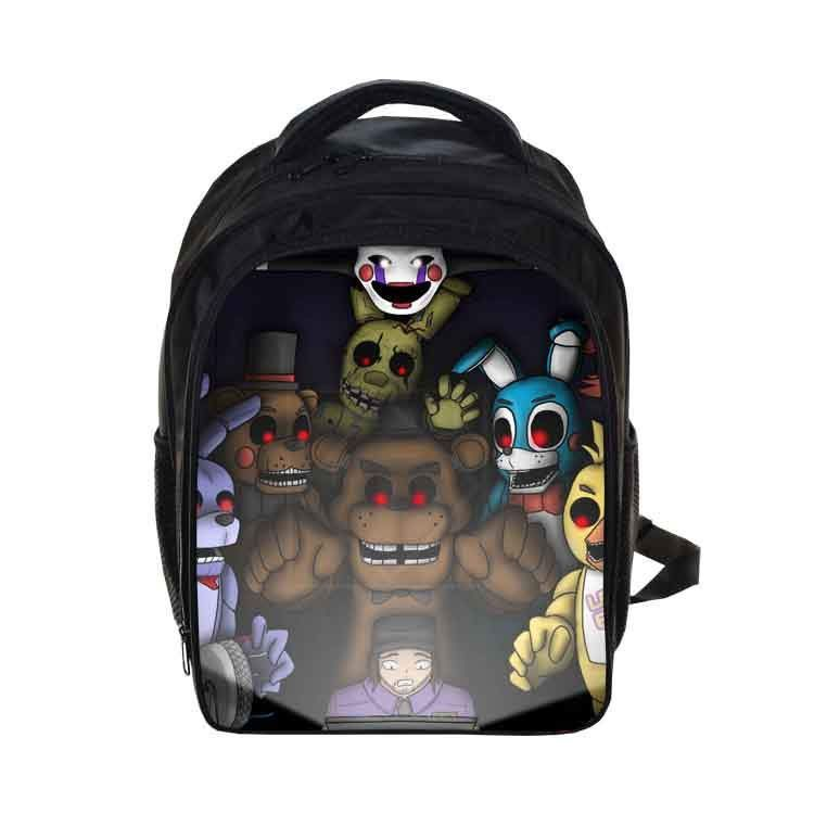 Kids Five Nights At Freddys Backpacks Anime Sonic Backpack Boys ...