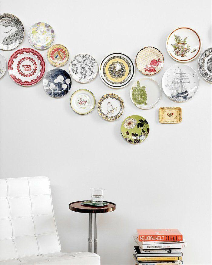 Diy Wohnideen Wandgestaltung Wandteller Porzellan | Geschirr | Pinterest |  Wandteller, Diy Wohnideen Und Wandgestaltung