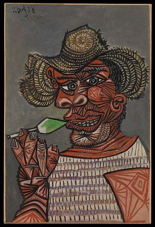 Man with a Lollipop, Pablo Picasso.