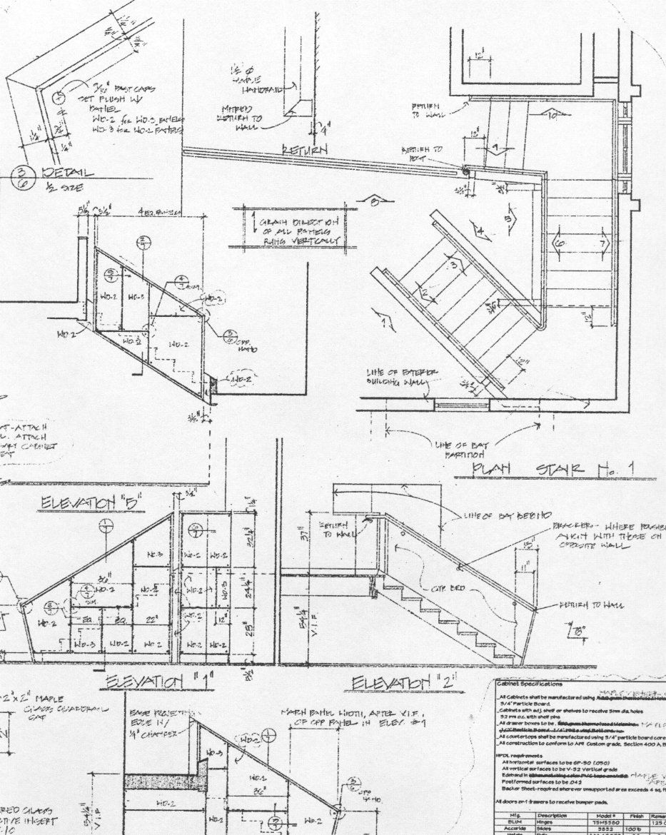 Stair parts Optometry office, Medical office design