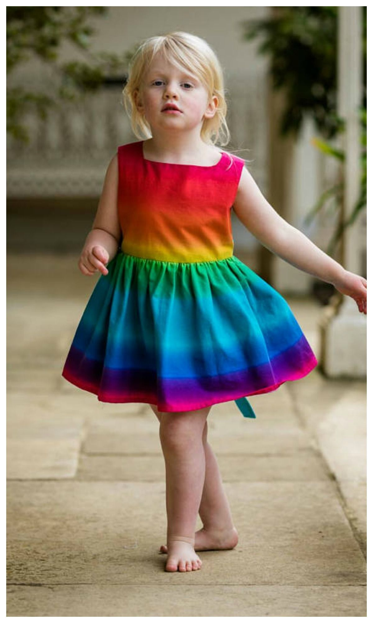 6f5e33c23 toddler rainbow dress. swoon.  toddler  affiliate