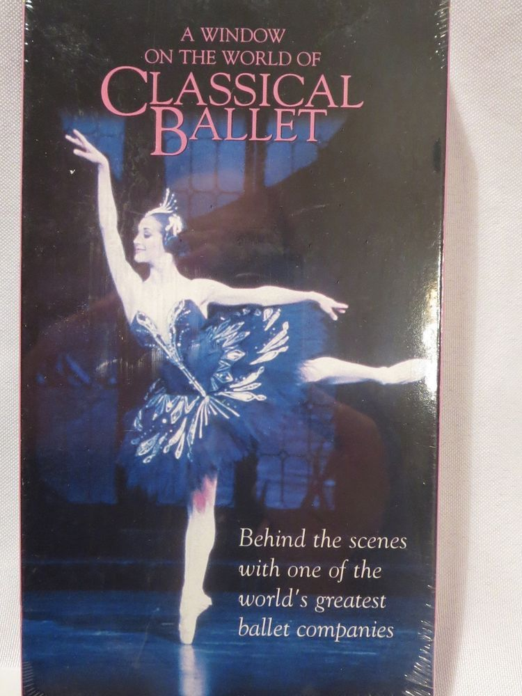 A Window on the World of Classical Ballet VHS Australian Ballet company Dance