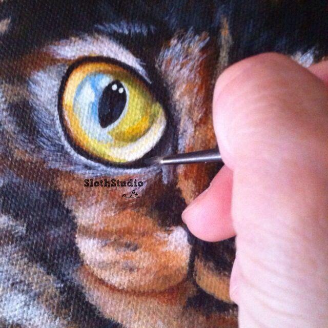 ":""Good Morning Caturday!!""   (Work In Progress)  www.slothstudio.com"