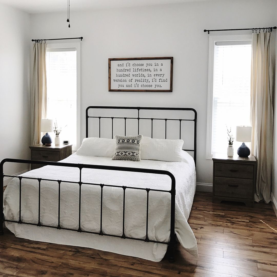 Best Farmhouse Master Bedroom Boho Farmhouse Bedroom Master 640 x 480