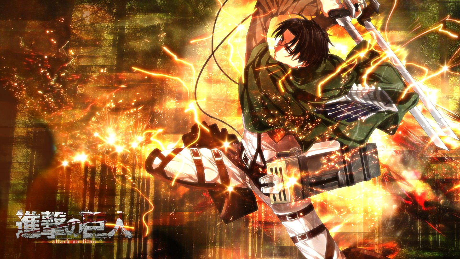 Fantastic 1920x1080 Titan Attack 1080p Wallpaper Hdwallpaper Desktop In 2020 Attack On Titan Attack On Titan Levi Anime Wallpaper