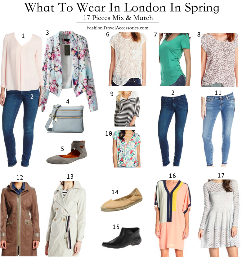 What To Wear In London Summer Winter Spring Autumn