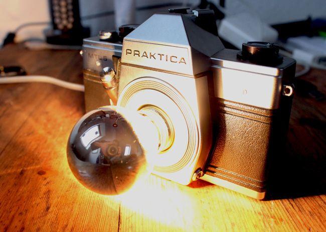 Kameralampe Diy In 2019 Alte Kameras Kamera Und Lampen