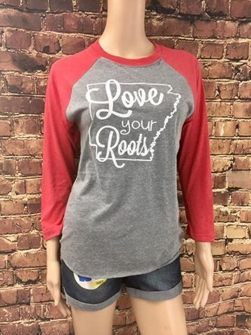 Love Your Roots Baseball Tee
