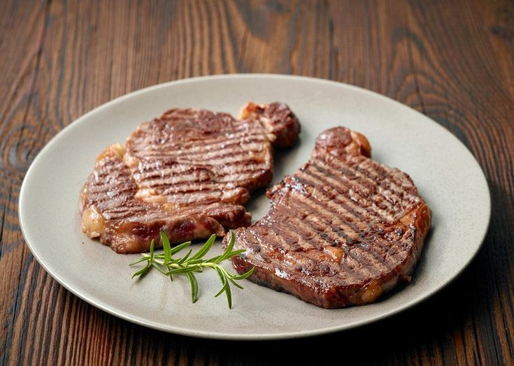 Photo of The entrecôte is a cut of beef that is made from …-L'entre…
