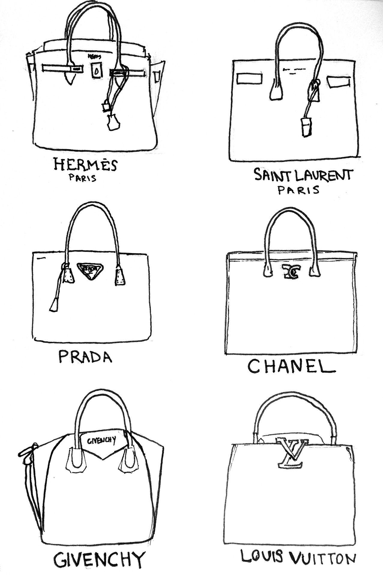 Hermes   Saint Laurent   Prada   Chanel   Givenchy   Louis Vuitton   Andrea.Puente