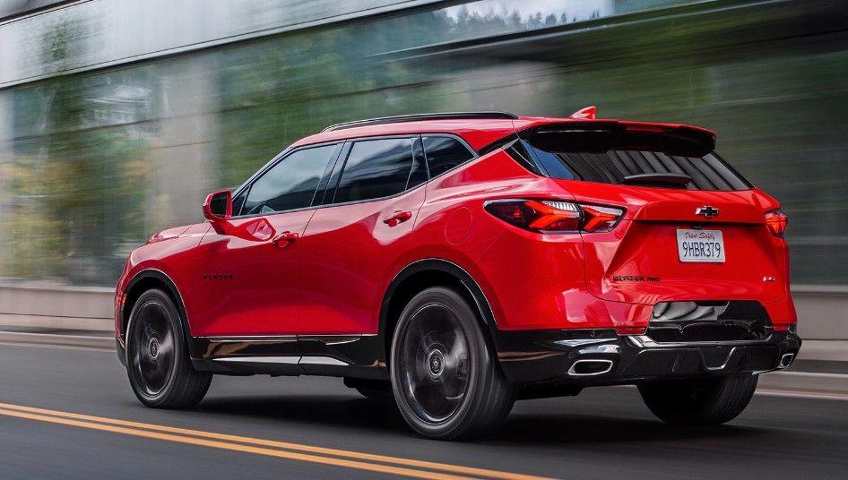 2020 Chevy Blazer Specs Price Interior Release Date Chevy Blazer Suv