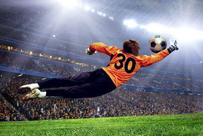 Goalkeeper in Orange, #goalkeepers