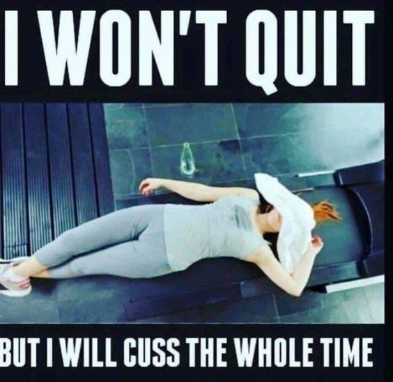 SHOW UP. EXECUTE THE PLAN. -   7 humour sport fitness Humor ideas