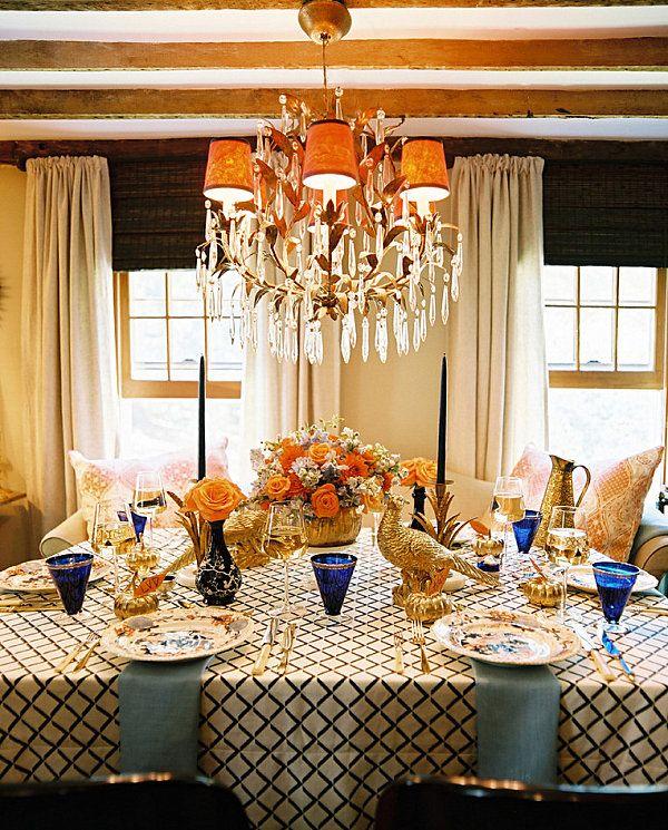 12 Stylish Thanksgiving Table Setting Ideas | Thanksgiving, Table ...