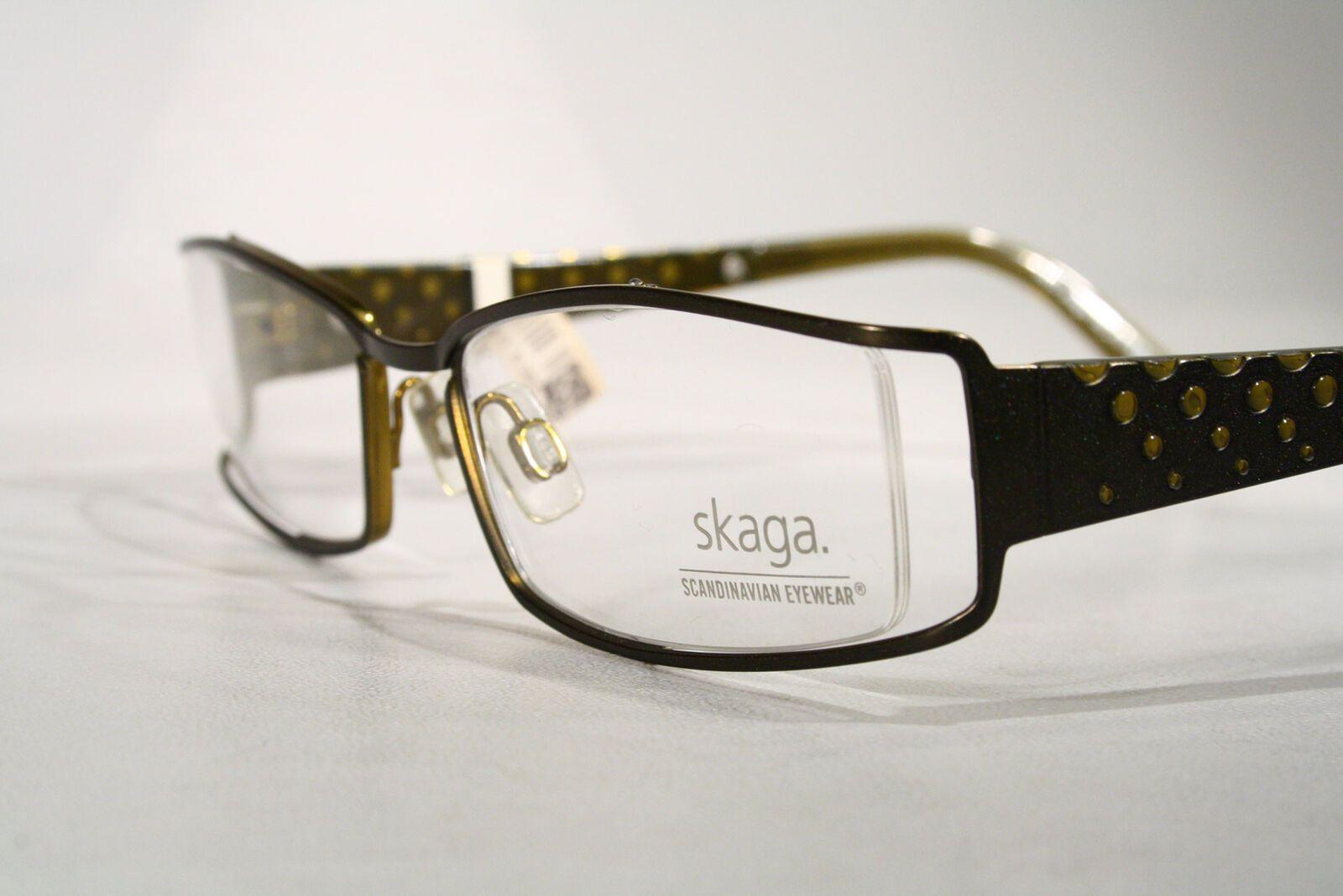 291723018f Women s TITANIUM Semi Rimless Small SKAGA Olive Green Eyeglass Frames  Glasses   eBay (RipVanW)