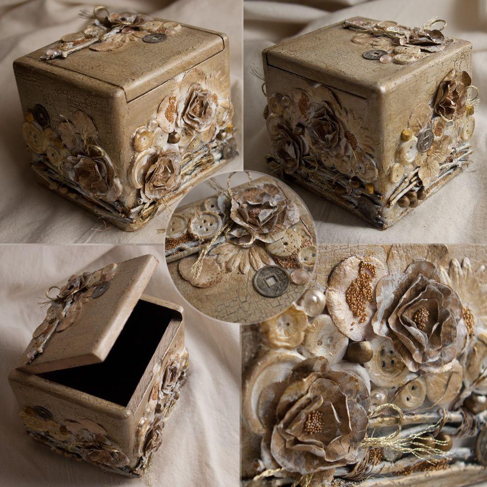 сам декор коробок своими руками в картинках полумесяца распространился