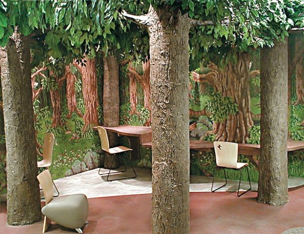 Large Artificial Tree Museum Series Forest Artificial Tree Artificial Trees Outdoor Decor