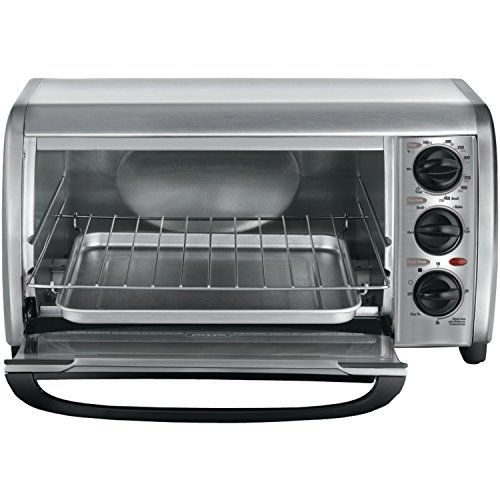 Black Decker Black Decker To1491s2 4slice Toaster Oven To View