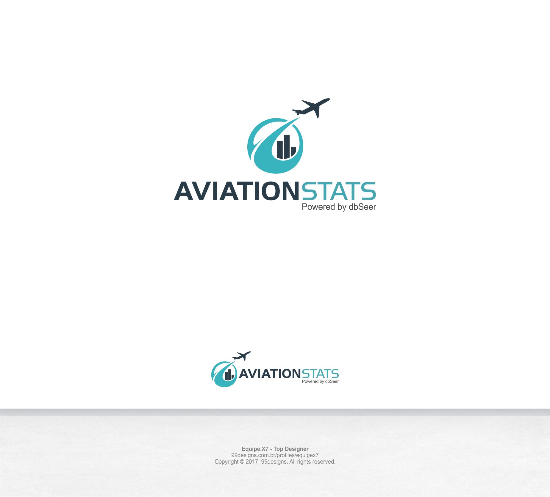 Aviation Stats Logo Design 99designs 99designs