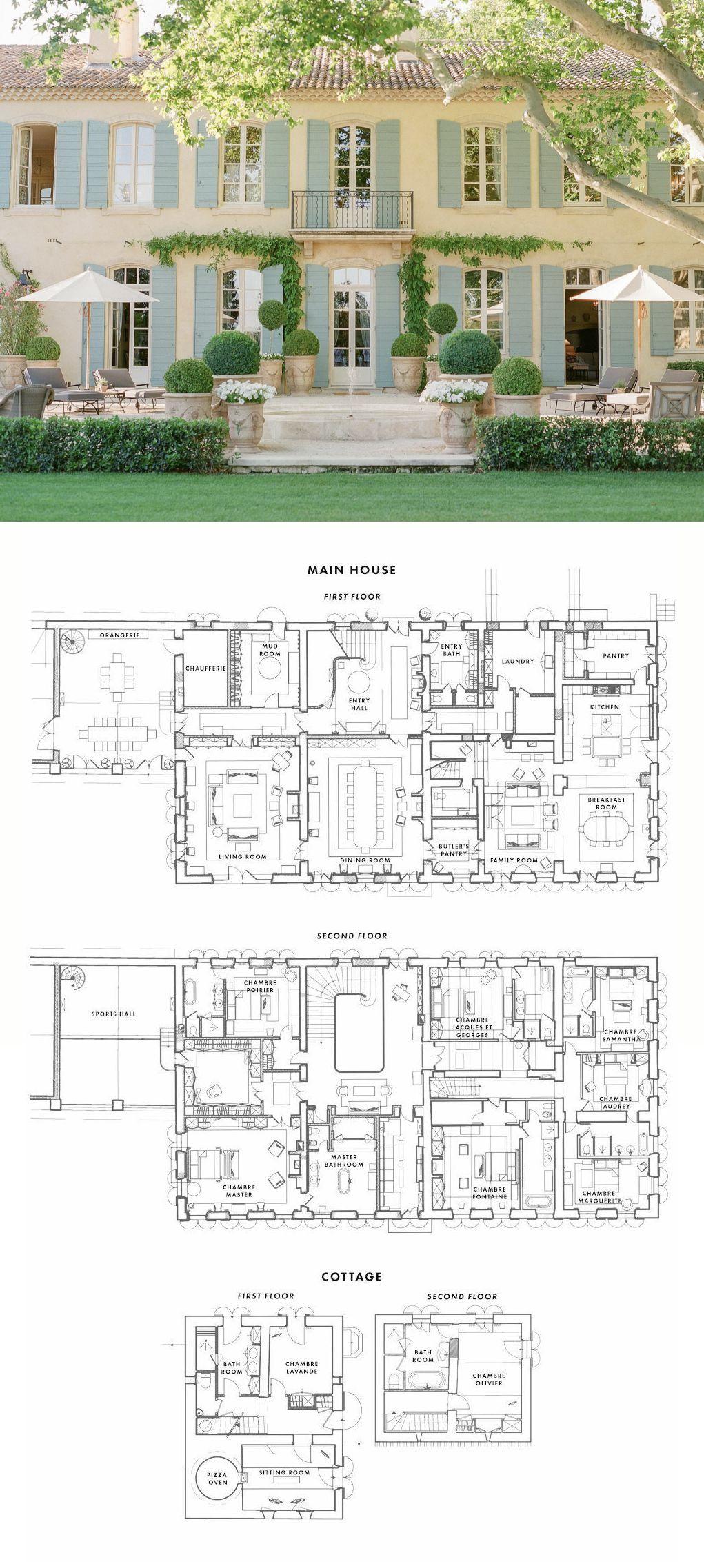 Floor Plan · Le Mas des Poiriers