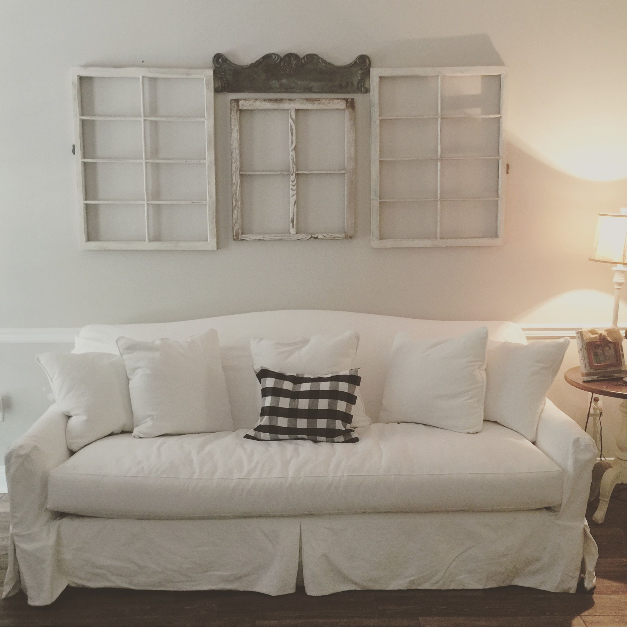 Birch Lane Fairchild Slipcovered Sofa In Pure White Purchased From