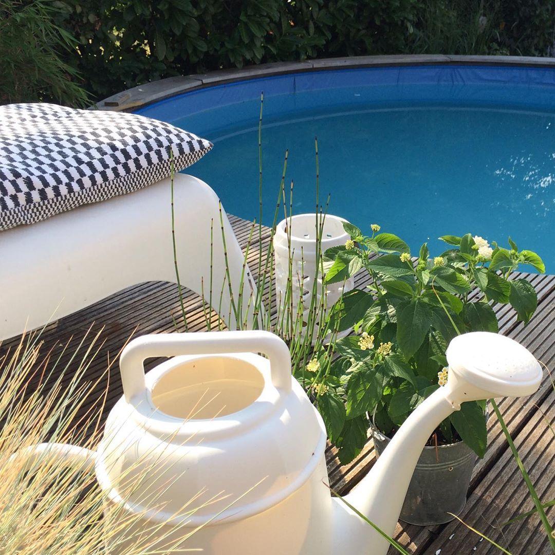 Sonntags Morgens Ist Die Poolwelt Noch In Ordnung Also Nix Wie Rein Pool Pooltime Garten Deko Pool Erfrischung