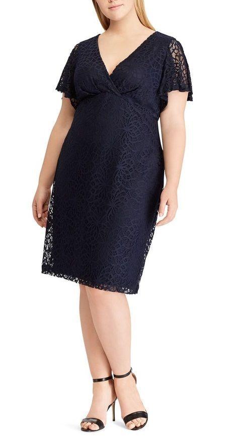 Plus Size Lace Empire Dress Plussize Plus Size Party Dresses