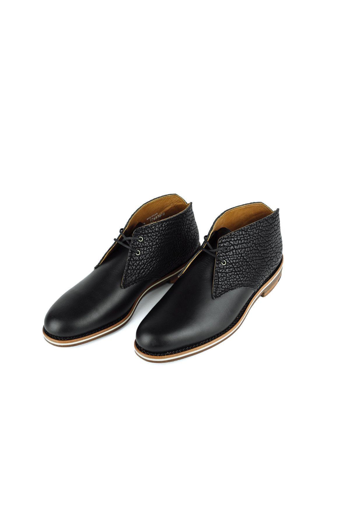Pete Tasman | Black | Helm Boots