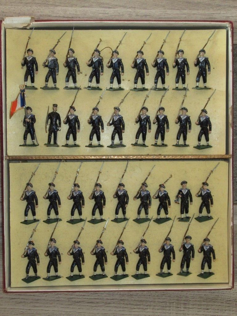 extremely rare early mignots   OLD WARRIORS , early lead ,tin and