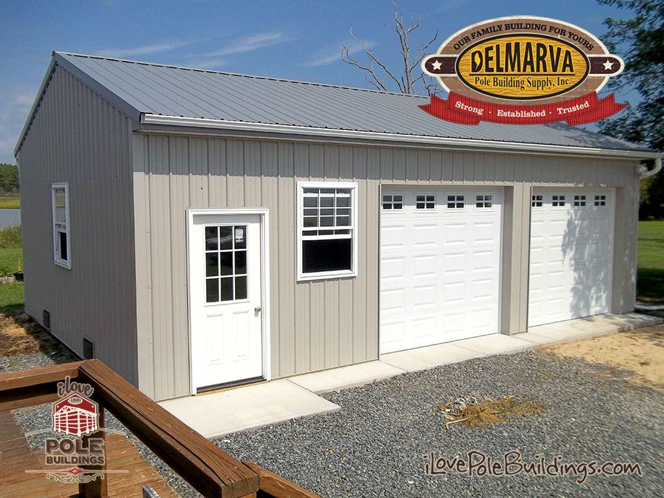 Residential Pole Building | Pole Garages | Post-Frame ...