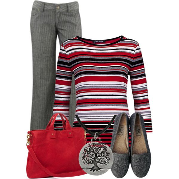 Kindergarten teacher work wear #2 by domino-80 on Polyvore featuring Betty Barclay, Wet Seal, Clare V., Carolina Glamour Collection and UGG Australia