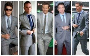 TAN SUIT BLUE SHIRT | Men's Fashion | Pinterest | Men wear