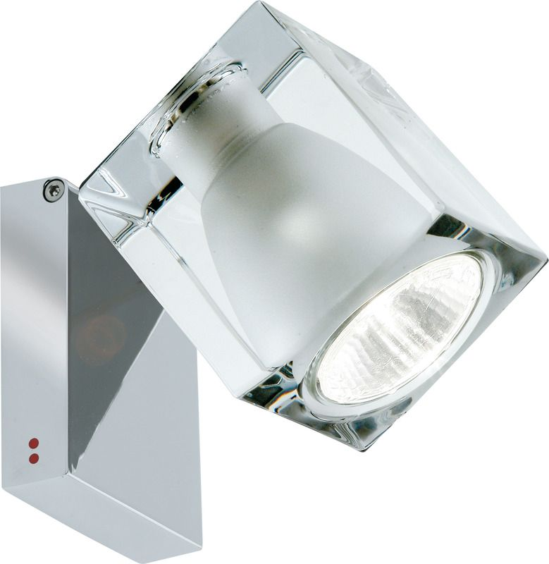 Fabbian Cubetto One Light Adjustable Wall Ceiling Lamp Ceiling