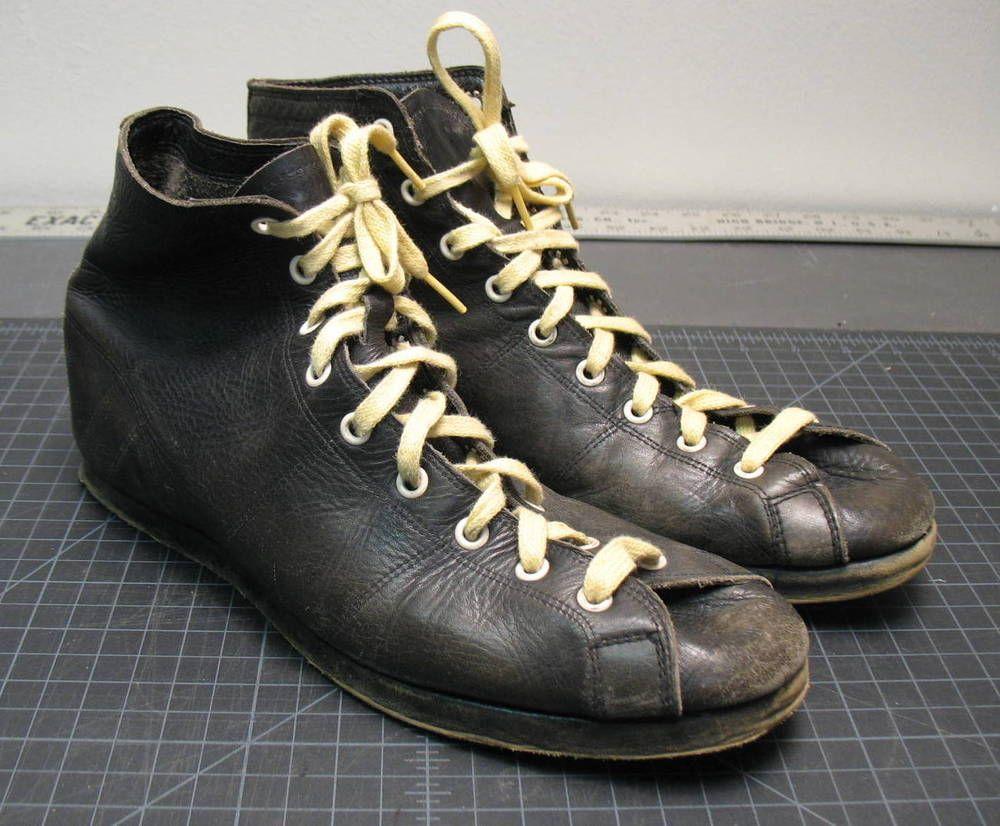 2cc678d4b15b49 Vintage Converse CX Chuck Taylor Model Leather Sneakers Athletic ...