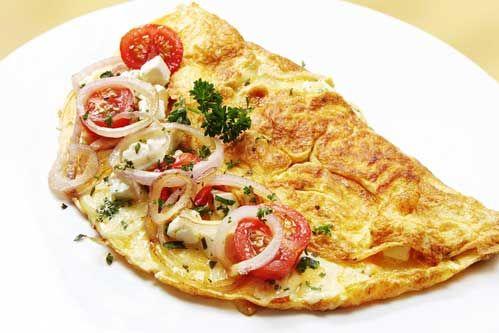 Omelet en Atkins