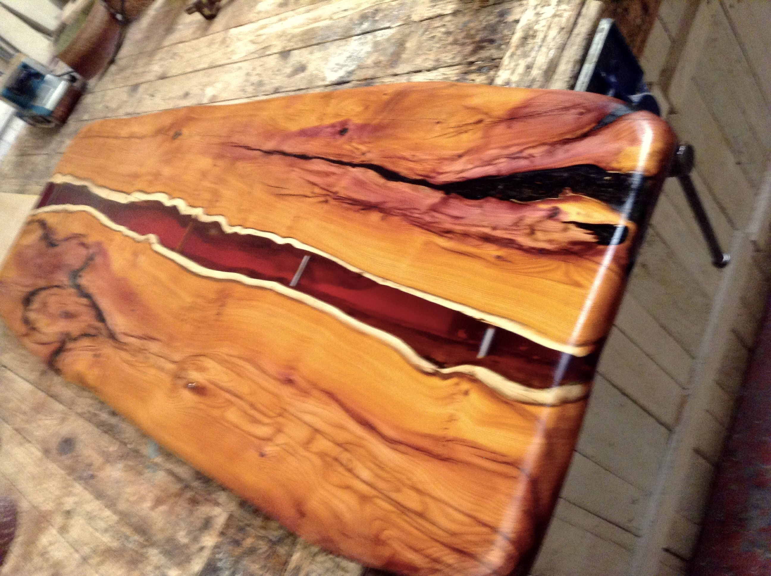 Image result for live edge resin tables | Live edge wood ... for Epoxy Resin Wood Art  181obs