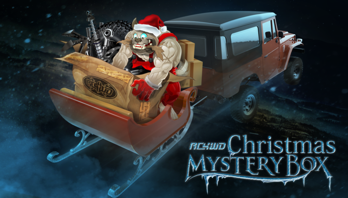 RC4WD Christmas Mystery Boxes are available NOW! Visit our