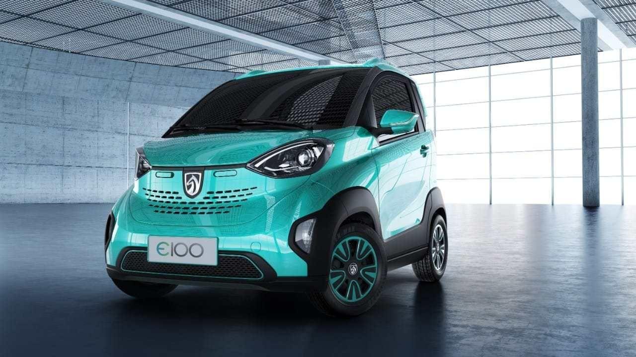 Baojun E100 In 2020 Small Electric Cars Electric Cars Electric Cars In India