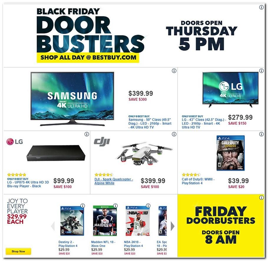 Best Buy Black Friday 2017 Ad Scan, Deals and Sales Best Buy\'s 2017 ...
