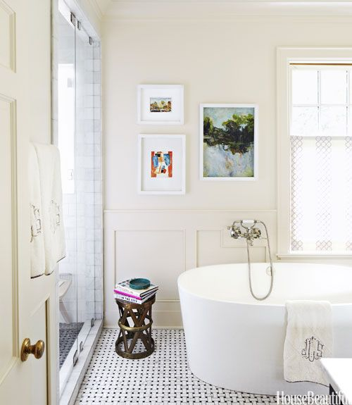 Unique Bathroom Ideas To Steal House Beautiful Bathroom