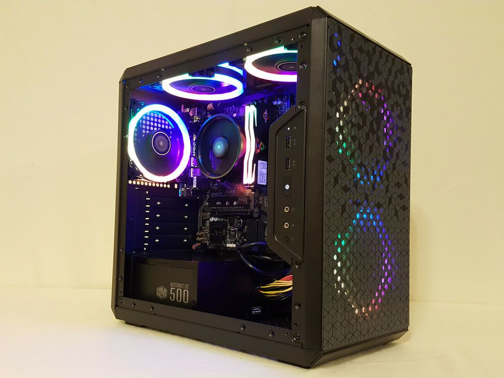 Custom Gaming PC Computer Ryzen 3 Vega 16GB Fortnite +