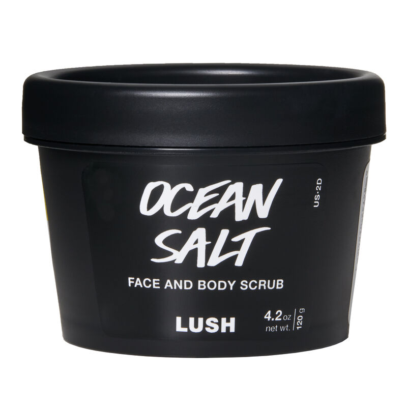 Ocean Salt Face, body, Lush cosmetics, Body scrub