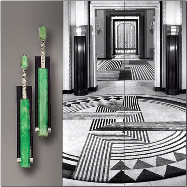 Art deco interior design pinterest patterns art for Deco interiors
