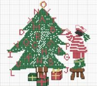 Gallery.ru / Arbre de Noel Christmas tree - Rue du port - natalytretyak