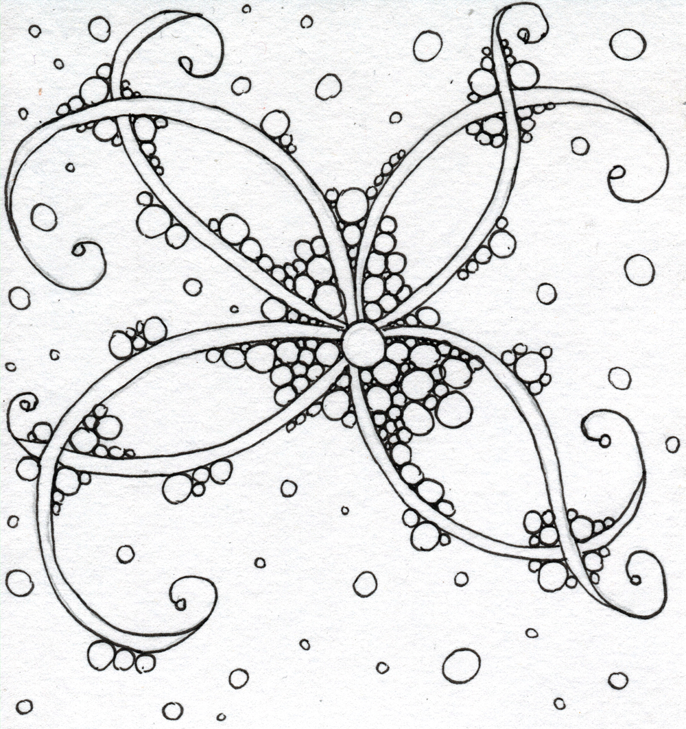 Just discovered zentangle and doodling diy how to draw doodle