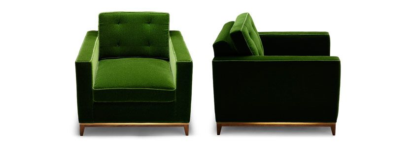 Minx Chair, Terribly Chic And Just The Right Green Amysomerville.com