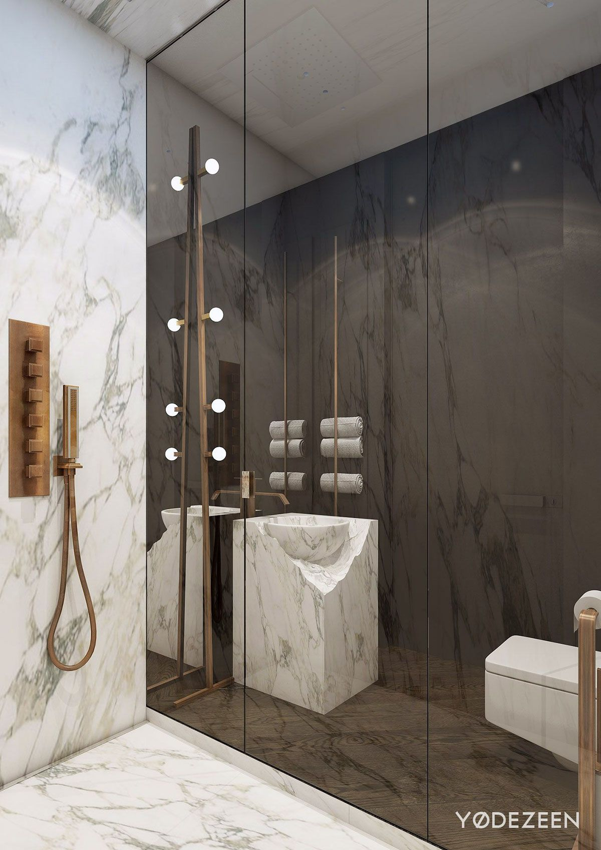 A Modern Apartment With Classical Features | Bathroom ...