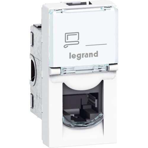 Prise Rj45 Mosaic Legrand Blanc Prise Rj45 Legrand Et