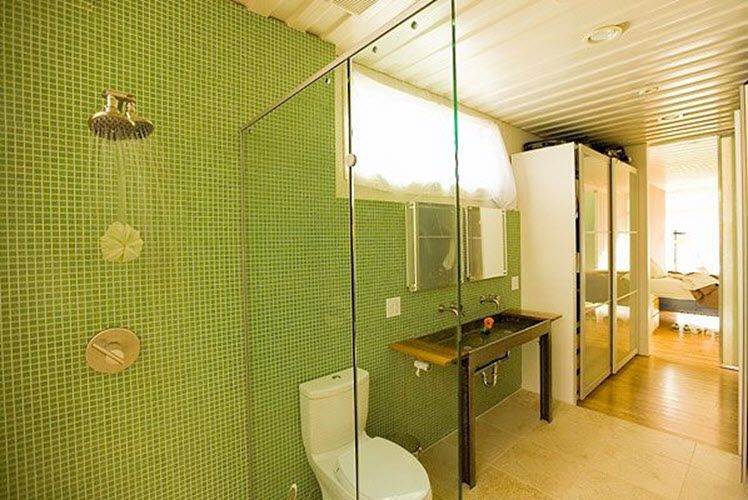 35 lime green bathroom wall tiles ideas and pictures | Green ...