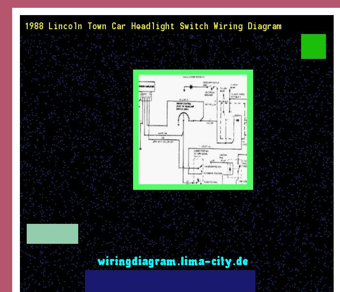 1988 lincoln town car headlight switch wiring diagram ...